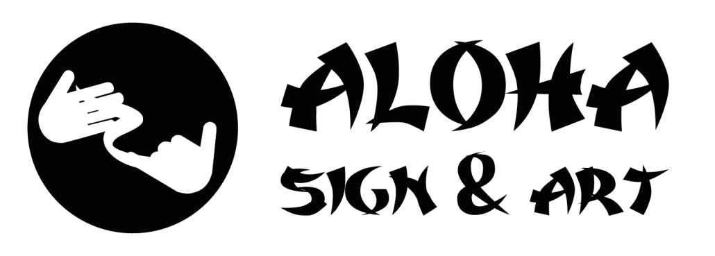 Aloha Sign & Art